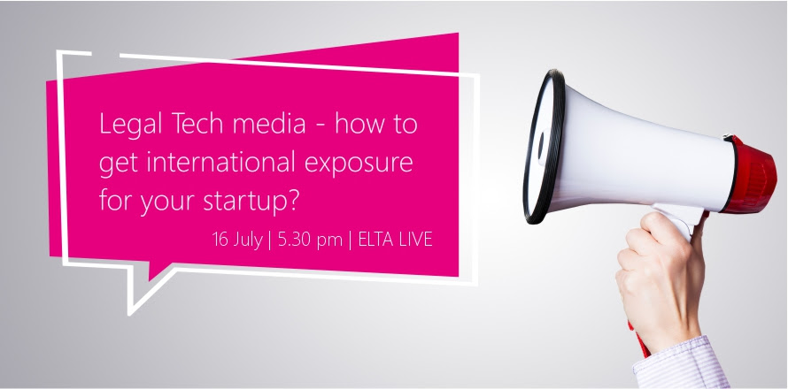 Legal Tech media – how to get international exposure for your startup?