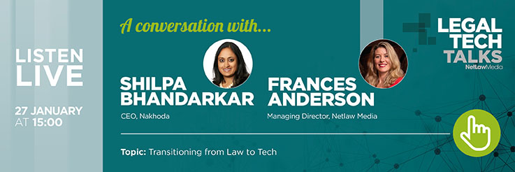 Transitioning from Law to Tech