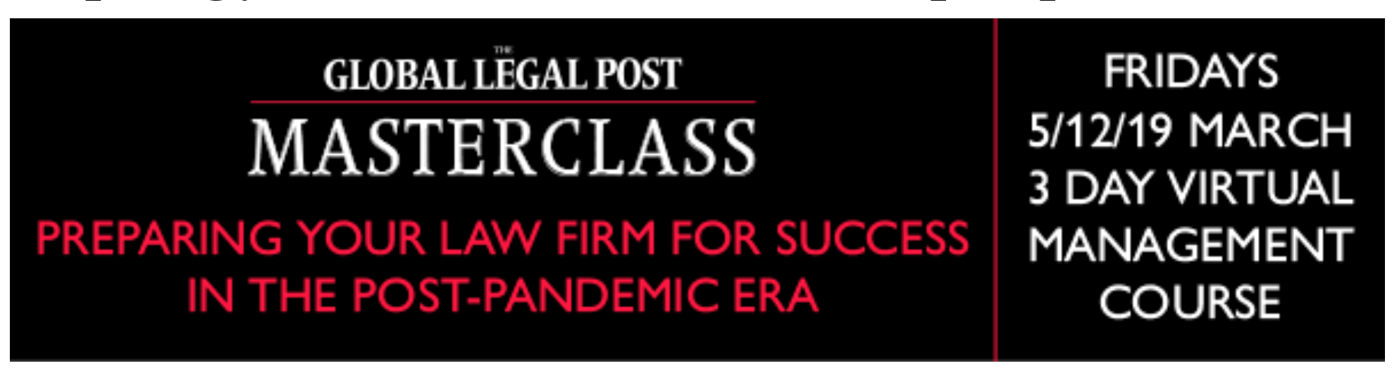 Preparing your law firm for success in the post-pandemic era