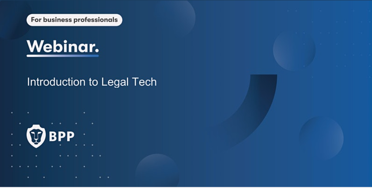 Introduction to Legal Tech