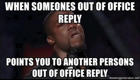 Out-of-office reply